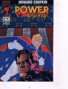 6 Power & Glory Bravura Malibu Comic Books #1 (A&B) + # 1 LTD Edition 2 3 4 TW28