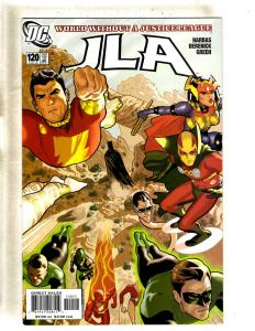 11 JLA DC Comics JLA 120 121 122 (2) 123 125 70 Foreign Bodies Nail 1 2 3 MF18