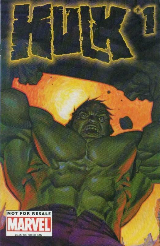HULK #1, VF/NM, Upper Deck Collectors Edition, Kirby, Marvel, 2003,more in store