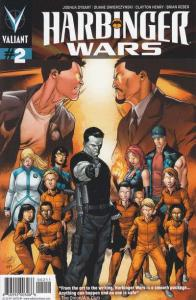 Harbinger Wars #2, NM (Stock photo)