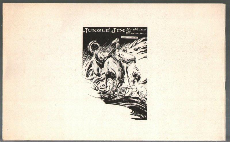 Jungle Jim Part 1B 1972-Alex Raymond comic strip reprints-FN