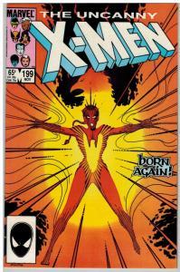 X MEN 199 VF-NM Nov. 1985