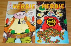 Herbie #1-2 VF/NM complete series - fat fury - dark horse - john byrne set lot