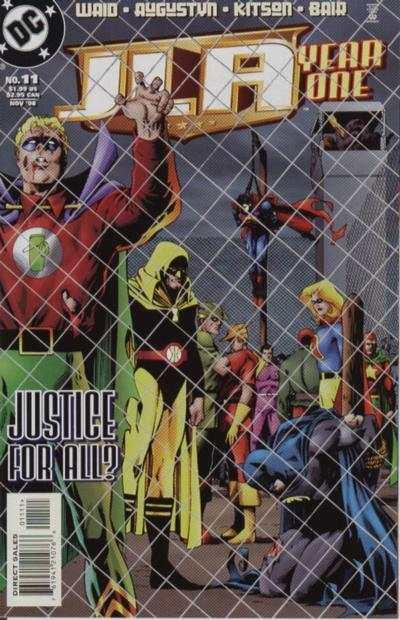 JLA: Year One #11, NM (Stock photo)