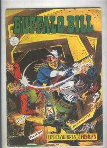 Buffalo Bill numero 02: Los cazadores de fosiles (numerado 1 en trasera)