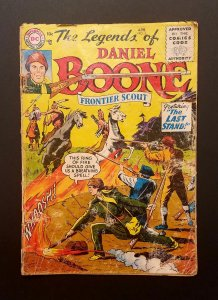 Legends of Daniel Boone #5 1956 GD Frontier Scout DC Comic Western Golden Age