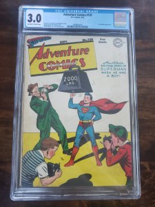 Adventure Comics 120 CGC 3.0 will come with a low grade raw copy