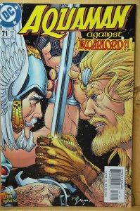 Aquaman #71 (2000) Against Warlord!!!