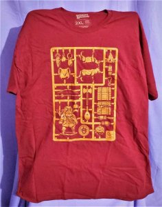 Loot Crate Exclusive DUNGEONS & DRAGONS SPRUE T-Shirt 2XL (Loot Crate)!