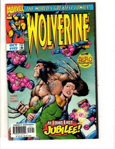 Lot Of 8 Wolverine Marvel Comic Books # 117 118 119 120 121 122 123 124 XMen MF8