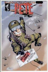 PETE the P.O.'d POSTAL WORKER Special #1, NM, War Journal, Afganistan delive
