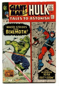 Tales to Astonish #67 1965- Giant Man  Hulk Nice Silver Age VF-