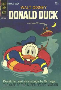Donald Duck (Walt Disney's…) #116 VG; Dell | low grade comic - save on shipping