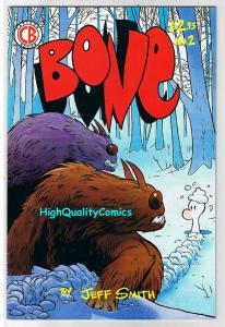 BONE #2, VF+, Jeff Smith, 4th, Cartoon Books, 1993, , more in store