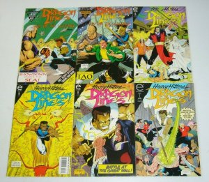 Dragon Lines #1-4 VF/NM complete series + way of the warrior #1-2 ron lim set 3