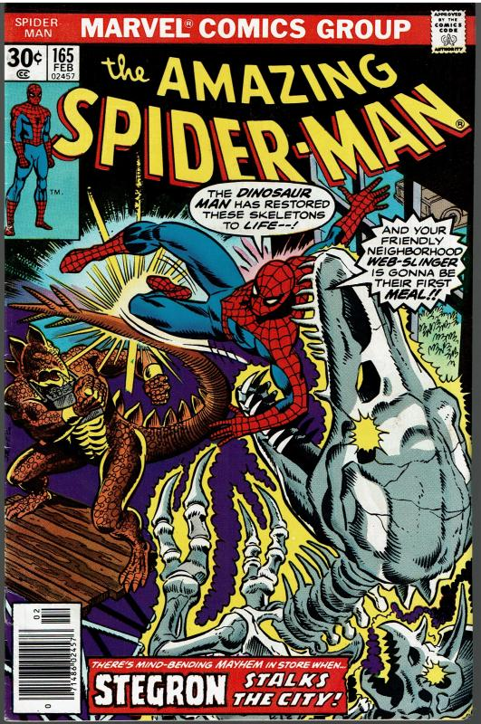 Amazing Spider-man #165, Fine or Better
