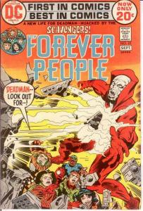 FOREVER PEOPLE 10 VG-F  September 1972 COMICS BOOK