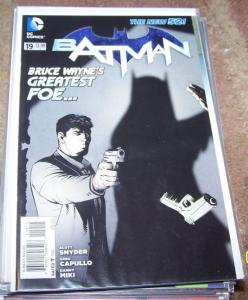 BATMAN # 19 2013 + DC  new 52 scott snyder  greg capullo bruce wayne