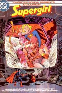Supergirl (1984 series) #1, Fine (Stock photo)