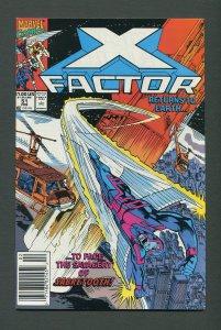 X-Factor #51  / 9.6 NM+ - 9.8 NM-MT /  Newsstand / February 1990