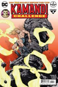 Kamandi Challenge #4, NM + (Stock photo)