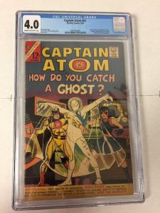 Captain Atom 82 Cgc 4.0 1st Nightshade And Ghost