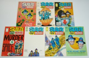 Sleeze Brothers #1-6 VF/NM complete series + some like it fresh BLUES BROTHERS