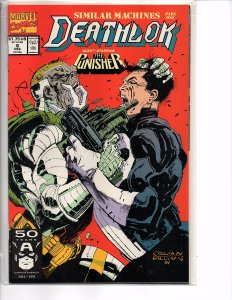Marvel Comics Deathlok #6 The Punisher NM Denys Cowan