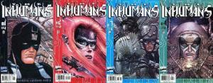 INHUMANS (2000) 1-4  the COMPLETE series!