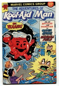 Adventures of Kool-Aid Man #1 1984 Marvel giveaway comic book
