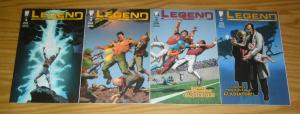 Legend #1-4 VF/NM complete series PHILIP WYLE'S GLADIATOR howard chaykin set 2 3
