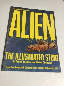 Heavy Metal Presents Alien The Illustrated Story Magazine