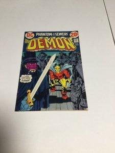 The Demon #8 (1973) Jack Kirby Fn-Vf Very Fine-fine 6.0-8.0 Dc
