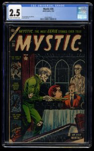 Mystic #26 CGC GD+ 2.5 Cream To Off White Decapitated Head Cover!