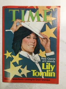 Time March 28 1977 No Label Magazine Very Fine Vf 8.0 Time Inc