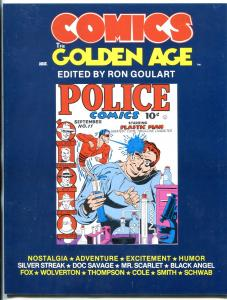The Comics the Golden Age Fanzine #2 1984- Wolverton- Doc Savage