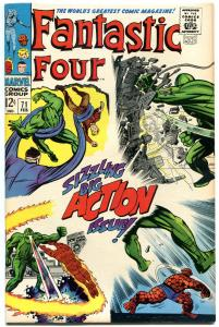 FANTASTIC FOUR #71, VF/NM, Android, Jack Kirby, 1961, more FF in store, QXT