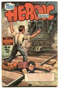 Heroic Comics #66 1951- FRAZETTA art- Golden Age VG/F
