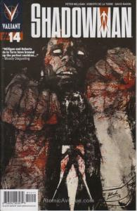 Shadowman (4th Series) #14 FN; Valiant | save on shipping - details inside