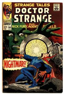 STRANGE TALES #164-comic book DR. STRANGE-NICK FURY VG