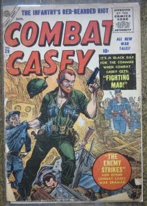 COMBAT CASEY #29 (ATLAS, 8/1956) FAIR, LOOSE COVER