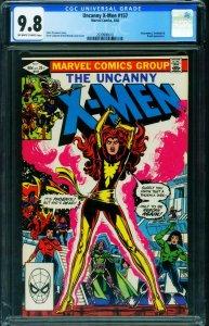 X-MEN #157 CGC 9.8 comic book 1982-MARVEL-Starjammers 2039900010