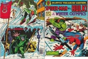 Marvel Treasury # 25 – Spiderman and The Hulk