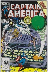 Captain America #314 (1986)