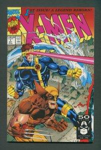 X-Men #1  (Wolverine Variant)  / 9.6 NM+  / October 1991