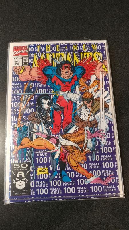 The NEW MUTANTS #100 CGC 9.8 NM/MT 1st app of X-Force