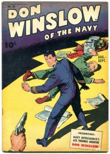 DON WINSLOW OF THE NAVY #28 1945- Fawcett Golden Age FN+