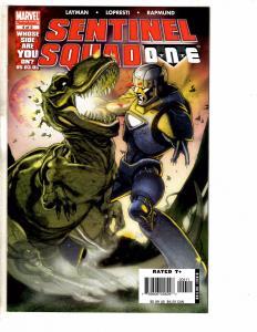 Lot Of 4 Marvel Comics Sentinel Squad One #4 5 & X-Men 198 # 4 5 Wolverine J235