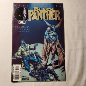 Black Panther 37 Very Fine+ Cover by Sal Velluto
