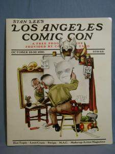 Los Angeles Comic-Con Souvenir Program Oct 2006 STAN LEE COVER RARE MARVEL LOOK!